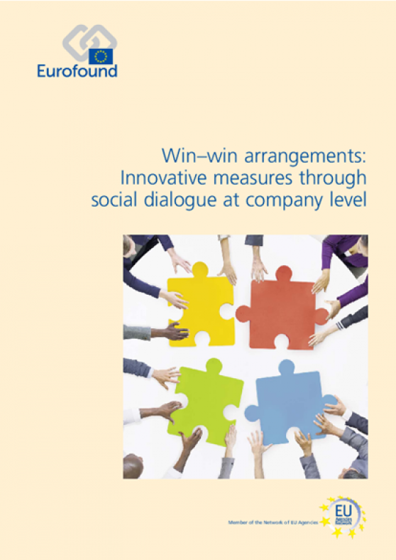 "Ikei y Eurofound elaboran el estudio ""Win-win arrangements: Innovative measures through social dialogue at company level"""